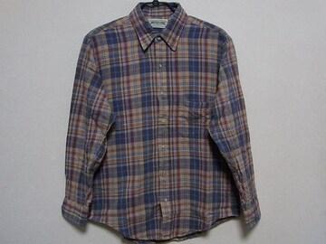 即決USA古着●AEアメリカンイーグルチェックデザインネルシャツ!アメカジ・レア
