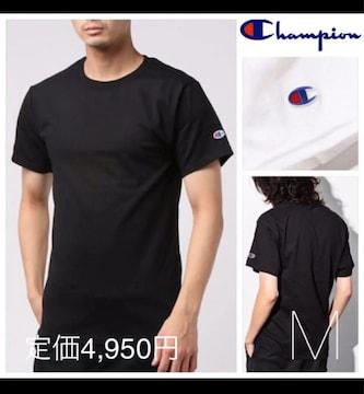 定価4,980円●Champion【タグ付き】ロゴ入りクルーネックTシャツ