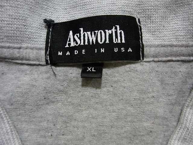 即決USA古着Ashworthロゴ半袖ポロシャツ!アメカジ < 男性ファッションの
