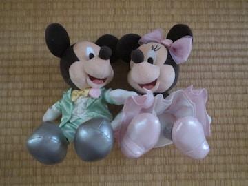 ディズニー「ミッキー&ミニー」ウエディングウェルカムドール