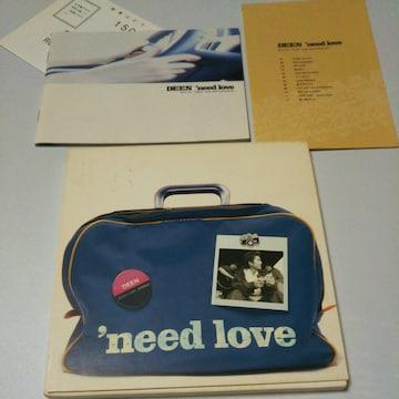 CD DEENアルバム 'need love 〒送料無料