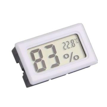 超低価格390円★デジタル温湿度計 高精度 温度 ・ 湿度計 白