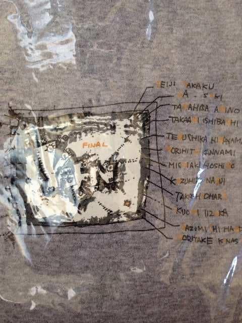 野猿FINALTOUR撤収限定販売 木梨憲武デザイン野猿Tシャツ < タレントグッズの