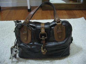 chloe/ホースチャーム&ホースシュー付ハンドバッグ
