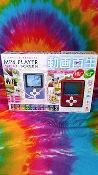 MP4プレイヤー□動画再生◆1,8インチ×スピーカー内臓□32GB