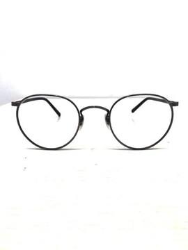 OLIVER PEOPLES(オリバーピープルズ)メタルボストン コンビネーションフレームメガネメガネ