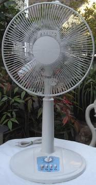 YUASA/YT-3006M(WH)30cm扇風機,中古完動品!!02.15