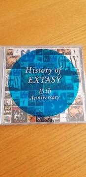 History of EXTASY 15th Anniversary CD