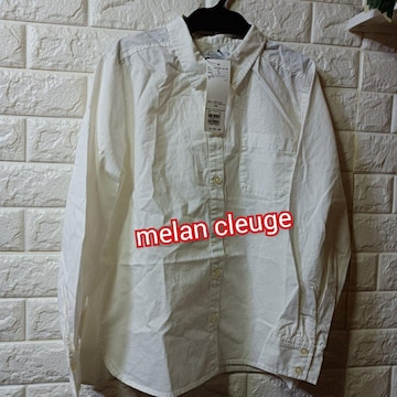melan cleuge★新品★シンプルシャツ/M