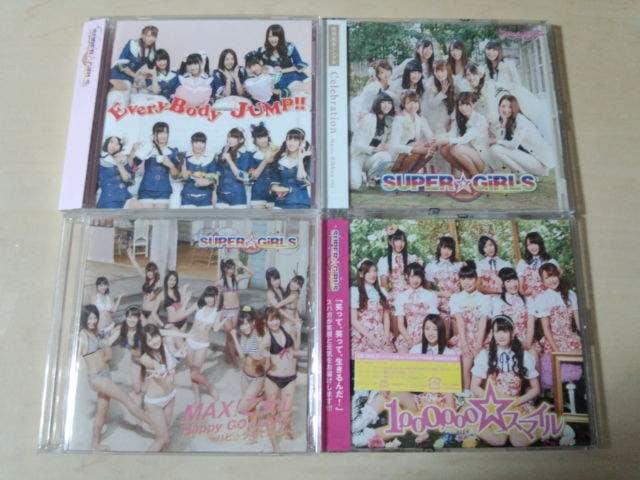 SUPER☆GiRLS CD4枚セット★  < タレントグッズの