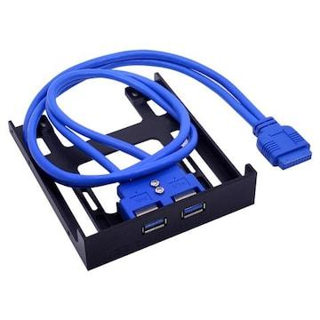 3.5ベイ用 USB3.0フロントパネル HDDマウンタ付