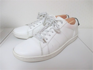 ☆SAINT LAURENT サンローラン スニーカー/メンズ/43/27cm☆ホワイト