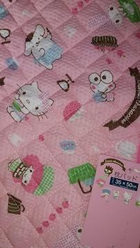 サンリオキャラクターいっぱい!枕パッド!新品タグ付き!35×50センチ
