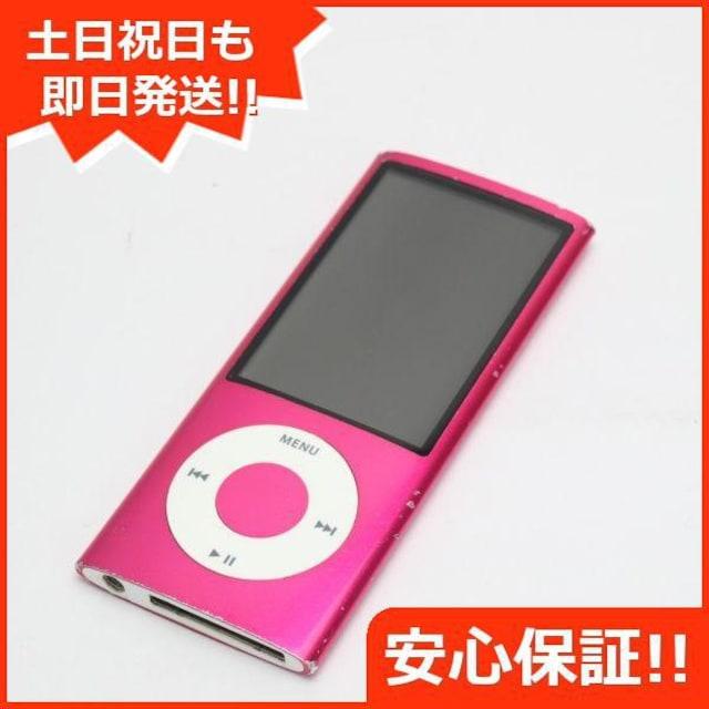 ●安心保証●良品中古●iPOD nano 第5世代 8GB ピンク●  < 家電/AVの