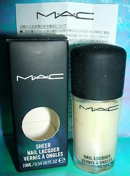 MAC マック ネイル ラッカー ゴールディド ¥1785 新品箱付