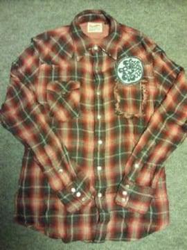 REDWOOD別注†×ラングラーコラボガーゼネルシャツ†