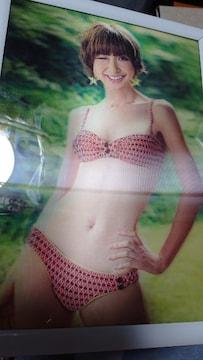 篠田麻里子・3Dポスター・4