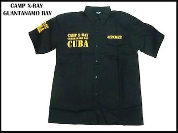 新品 ローライタズ・b系・ワークシャツCamp X-Rayウェアー系 L