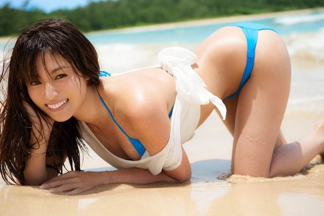 送料無料◆深田恭子写真集◆『Blue Palpitation』 講談社■美品 < タレントグッズの