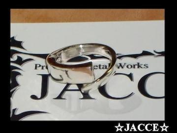 送料無料☆JACCE☆シルバー925コイルリング☆フリーサイズ