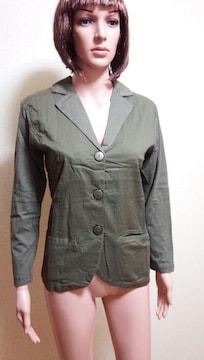 ☆新品タグ付☆格好いカットソー素材のジャケットA21☆3点で即落