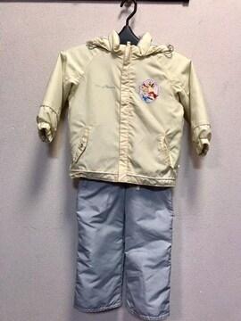 �C ディズニー プリンセス スノーウエアー 90
