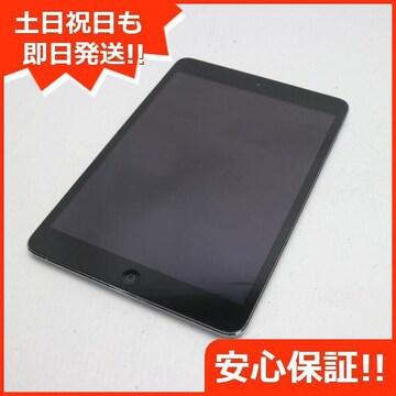 ●良品中古●iPad mini Retina Wi-Fi 16GB スペースグレイ●