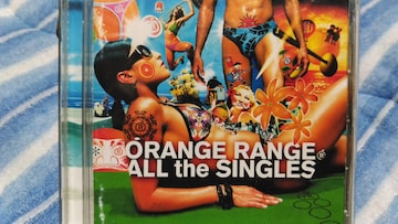 ORANGE RANGE オールザシングルス 2枚組ベスト