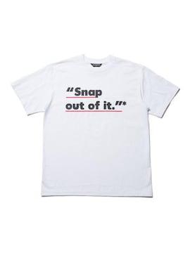 新品 COOTIE クーティー Tシャツ S 白 メッセージ カットソー