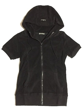 新品<AF刺繍ワッペン>aimerfeel/エメフィール(厚パーカー/ブラック)定価3465/M