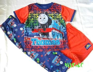 新品100cm(4T)★トーマス半袖2ボトムスパジャマ
