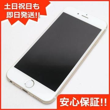 ●安心保証●超美品●DoCoMo iPhone6 16GB ゴールド●白ロム