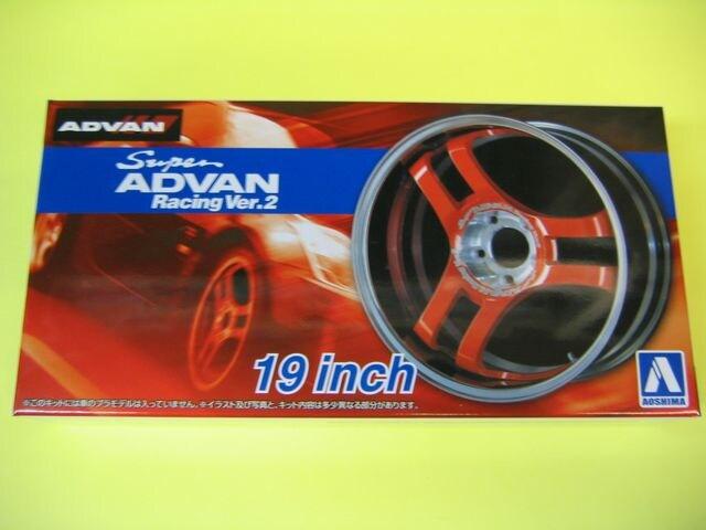 アオシマ 1/24 ザ・チューンドパーツ No.69 スーパーアドバンレーシング Ver.2 19インチ  < ホビーの