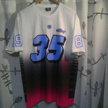STUSSY ステューシー 35周年 スカルT 35 Skull Tシャツ 未使用 L