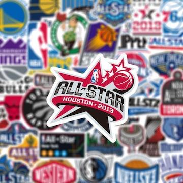 NBA バスケットボール シール ステッカー 50枚セット