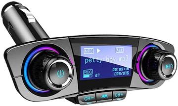 FMトランスミッター Bluetooth ブルートゥース ハンズフリー 車