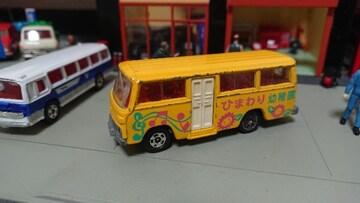 [ジャンク・トミカ]No.060 三菱 ローザ 幼稚園バス/日本製