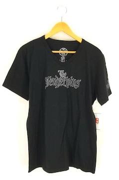 TENDERLOIN(テンダーロイン)THE BLACK SENSE FESTIBAL VネックTシャツクルーネックT