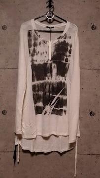 新品KMRIIケムリ Side Shirring ANGEL DUST CAT/SS 2