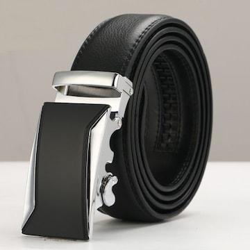 ベルト 本革 オートロック 高級ベルト 110cm〜125cm 646
