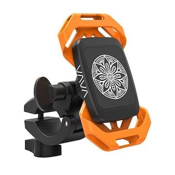 スマホホルダー マグネット/360度回転/二重保護/落下防止