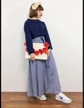 ☆NICE CLAUP リボンクラッチ☆