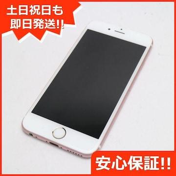保証●新品同様●SOFTBANK iPhone6S 16GB ローズゴールド