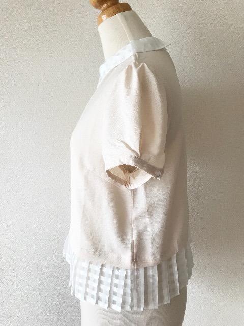 [Heather]★ベージュカラー・半袖カットソー・サイズ[F]★ < ブランドの