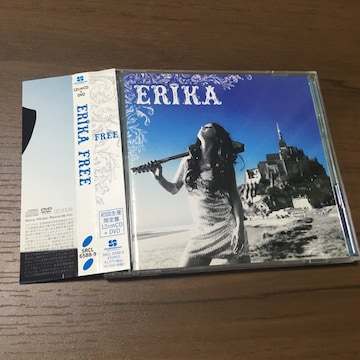 ERIKA沢尻エリカ初回限定CD+DVD帯付きFREEシングル新品未再生