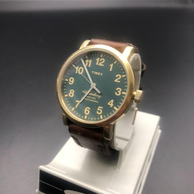 即決 TIMEX The Waterbury 腕時計  < ブランドの