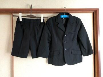 美品男児スーツセットアップ上下セットサイズ120cm冠婚葬祭