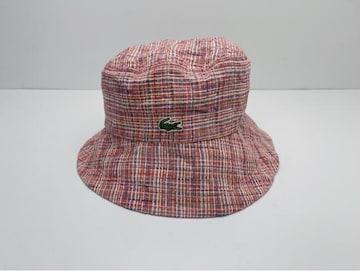 C137 極美品★ LACOSTE ラコステ 帽子 キャップ バケットハット