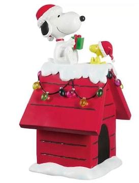 ☆コストコ スヌーピー クリスマス ドッグハウス☆