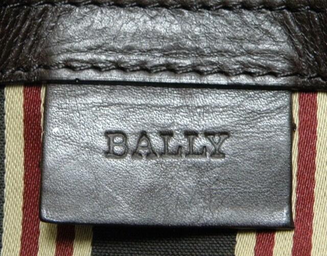 美品BALLYバリー ショルダーバッグ濃茶メンズ 良品 正規品 < ブランドの